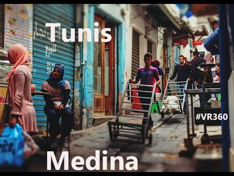 MEDINA de Sousse & Tunis Video360