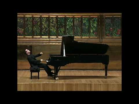 Inon Barnatan plays Schubert sonata in C minor D.958, mvt. IV