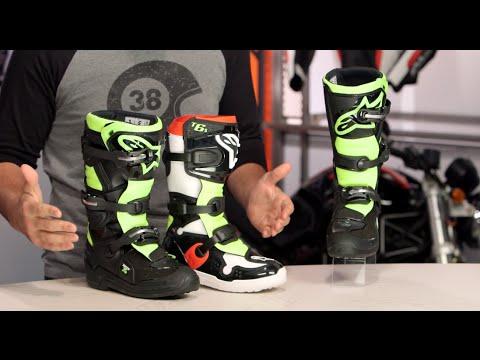 9f1a50f257e5f9 Alpinestars Youth Tech 7S Boots Review at RevZilla.com - YouTube