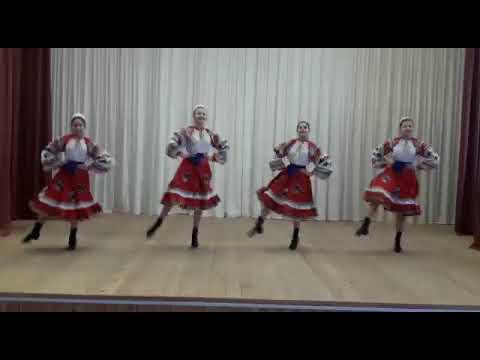 """Хореографический ансамбль """"Златница"""".  """"Деревня""""-народно-сценический танец."""