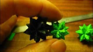 3d Origami  Bascetta Star World's Smallest