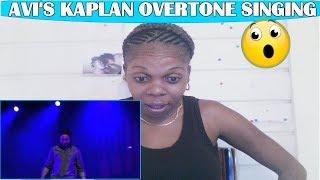 Avi Kaplan Overtone Singing Lion Sleeps Tonight | REACTION !!