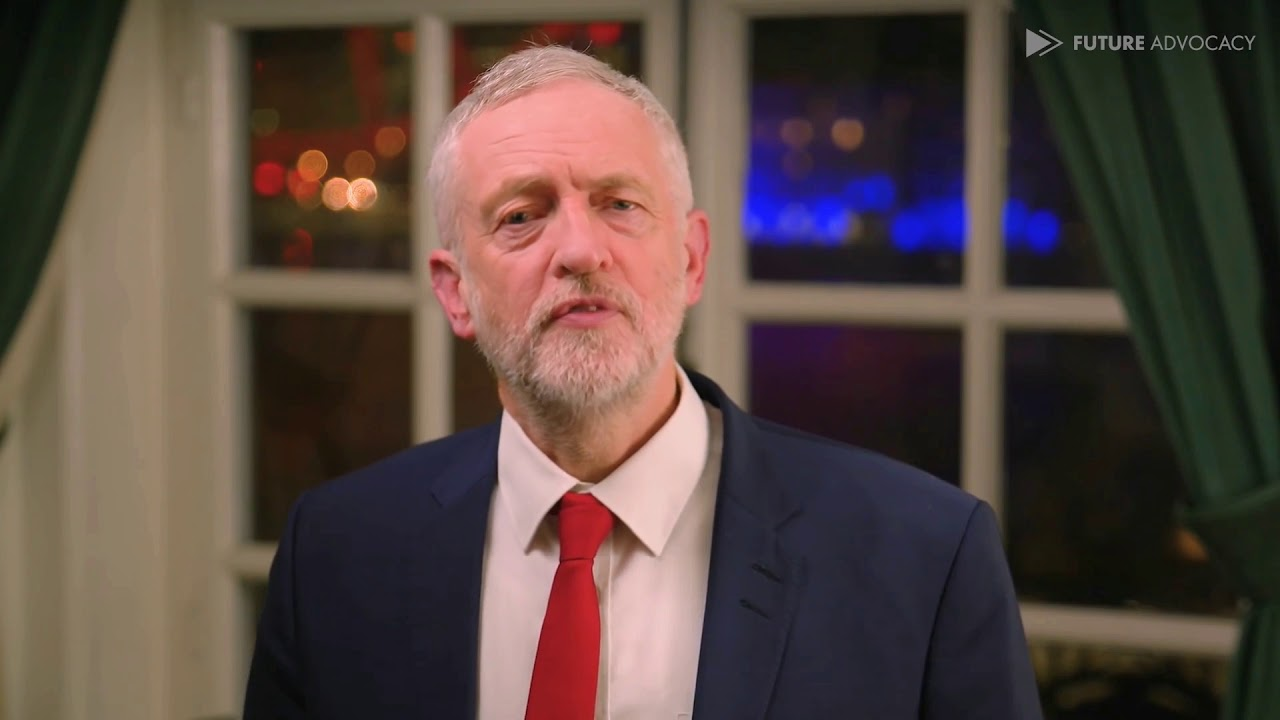 Jeremy Corbyn has a message for you. (deepfake)