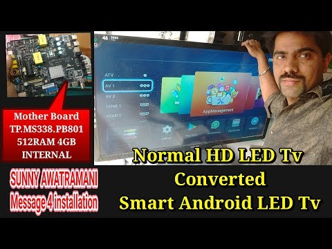Convert Your Normal Led TvTo Smart Android Led