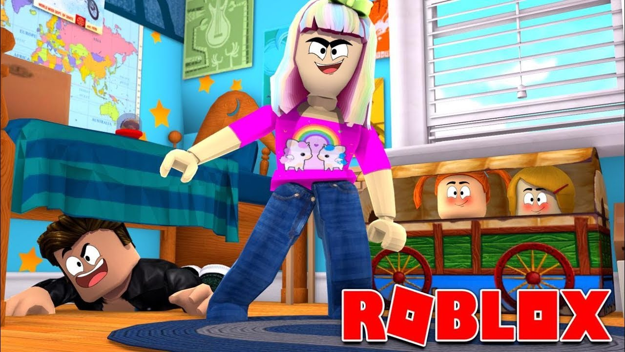 Happy Roblox Family Hide N Seek In Bloxburg Youtube