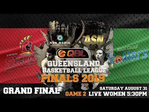 Women's #QBL19 Grand Final Game 2: Gold Coast Rollers At Southern Districts Lady Spartans