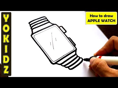 How to draw APPLE WATCH