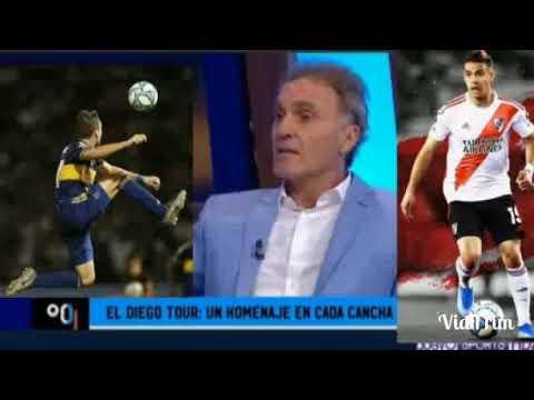 Borré o Soldano , Soldano Juega Porque Paolo Guerrero no Vino a Boca Juniors 90 Minutos de Fútbol