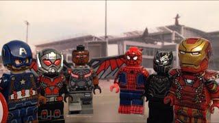 LEGO Captain America: Civil War Minifigure - Showcase