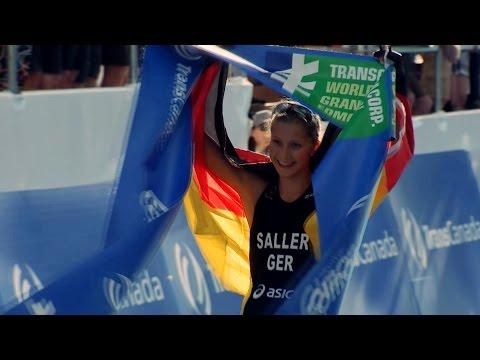 U23-Triathlon-Weltmeisterin und Oxford-Studentin Sophia Saller ist Sport-Stipendiat des Jahres 2015