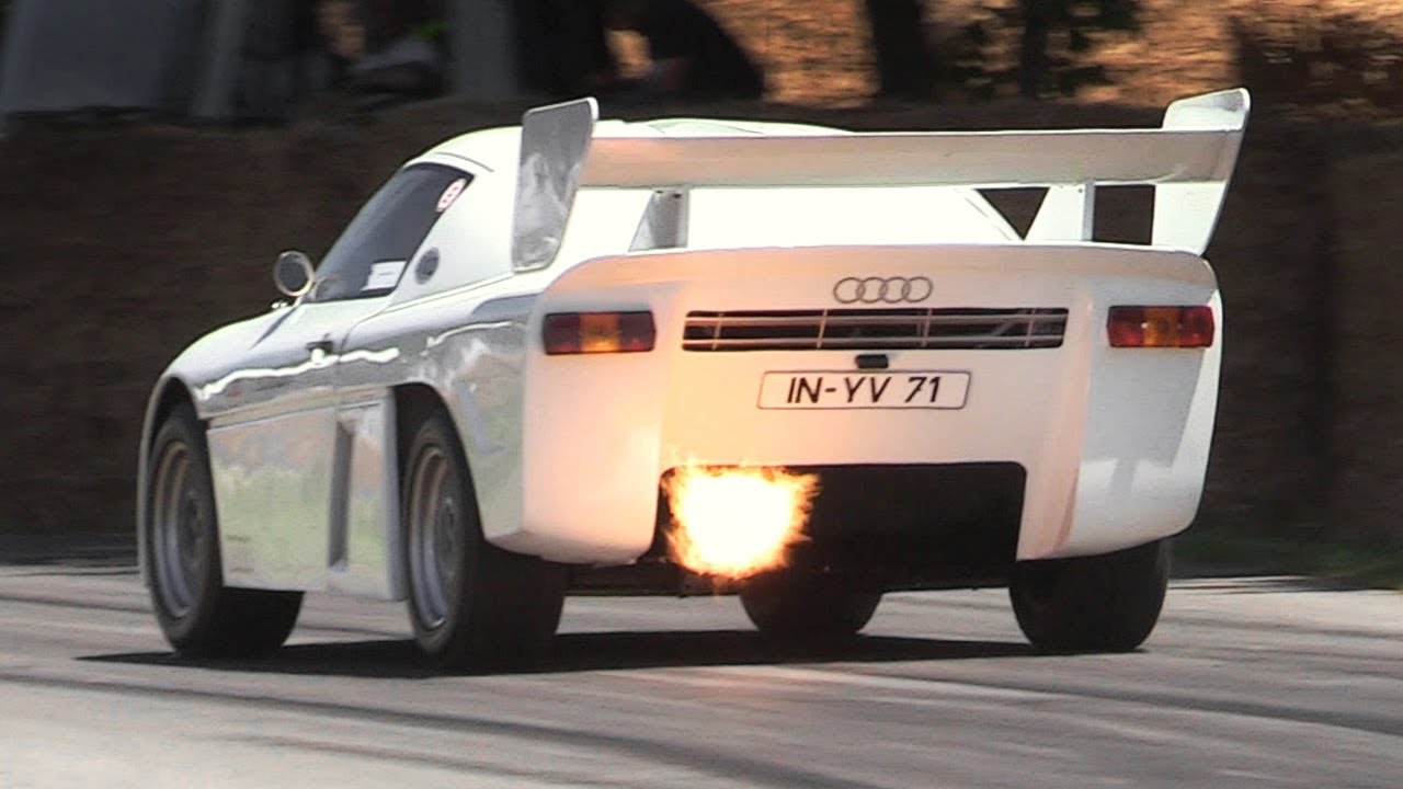 Festival Of Speed >> 700hp Audi Sport Quattro RS 002 Sound - Rally Group S Prototype In Action!! - YouTube