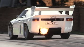 700hp Audi Sport Quattro RS 002 Sound - Rally Group S Prototype In Action!!