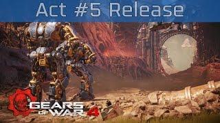 gears of war 4 act 5 chapter 4 release walkthrough hd 1080p 60fps