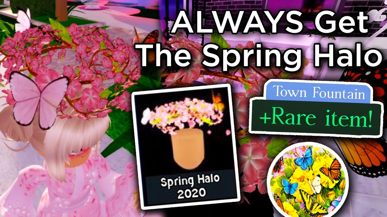 How To Always Get The Spring Halo 2020 Royale High School
