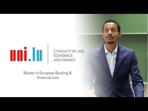 Master in European Banking and Financial Law