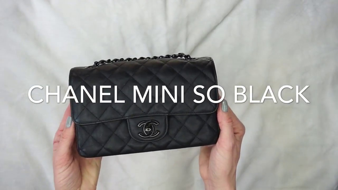 53790ef6f28ce8 CHANEL MINI RECTANGULAR || CHANEL MINI SO BLACK || ANNA IN WARSAW ...
