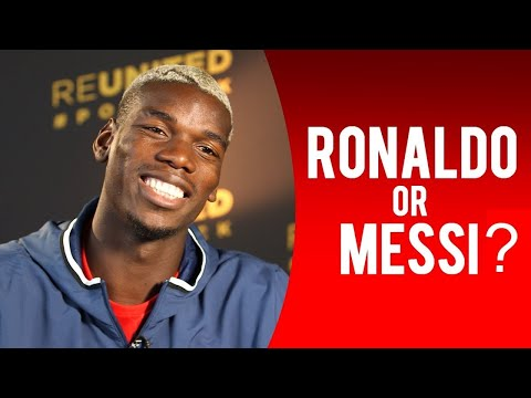 Cristiano Ronaldo or Lionel Messi? Famous Footballers answer to this question