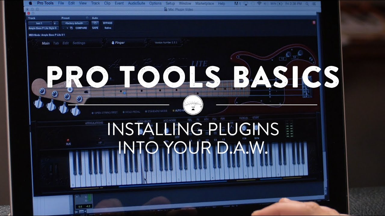 Pro Tools Basics: How To Install Plugins To Pro Tools