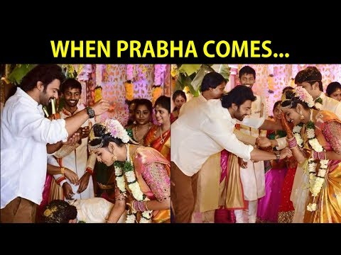 Thumbnail: When Bahubali 2 Actor Prabhas Comes in Marriage....
