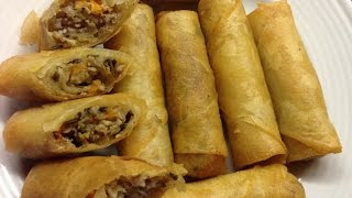 How to Make the Ultimate Crunchy Cambodian Eggrolls-Cooking Cambodian/Khmer food with Elissa.