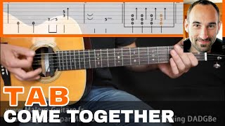 Come Together Guitar Tab