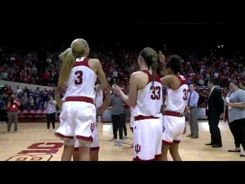Indiana Women's Team React To Hosting WNIT Final