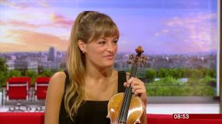 Nicola Benedetti interview, BBC Breakfast (23Sept13)