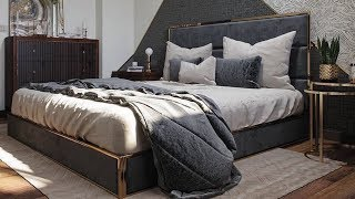 Modern Bedroom Design Ideas 2019 ! How to decorate a bedroom interior design