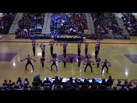 MCPS PomPons Division 2 Championships 2018