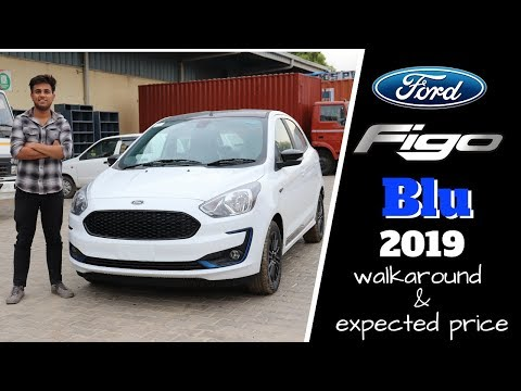 2019 Ford Figo Facelift Titanium BLU - Review | Variants | Features | FORD FIGO 2019