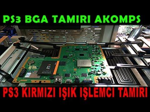 Slim Ps3 Yeşil Işıkta Donma 'Ps3 İşlemci Arızası