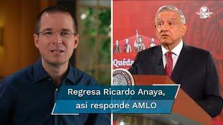 Tras perder la elección presidencial de 2018 y dos años de un auto-retiro, Ricardo Anaya dijo que regresó de lleno a la vida pública con el propósito de ayudar a construir un mejor futuro