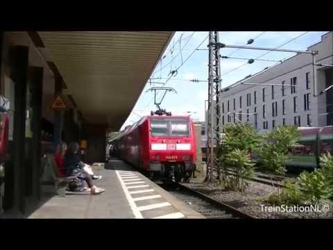 Aankomst DB 146 029 + Dubbeldekkerstrein Station Bonn