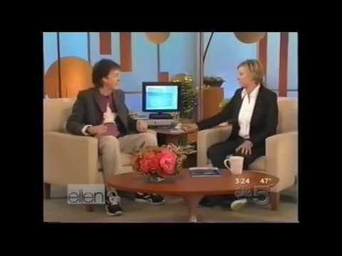 Paul McCartney Interview on Ellen 11/14/2005