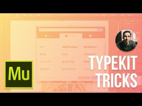 Adobe Muse CC 2015 Tutorial | Typekit Tips and Tricks