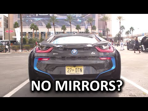 Joyride In The BMW I8 Mirrorless! - CES 2016