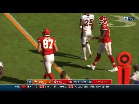 Patrick Mahomes Racks Up 4 TDs vs  Broncos
