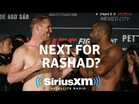 Rashad Evans Needs An Exit Plan From MMA Competition