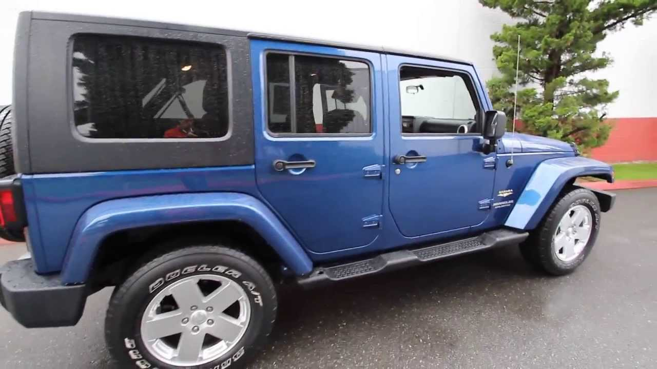 Jeep wrangler all models and colors interior exterior - Try out exterior paint colors online ...