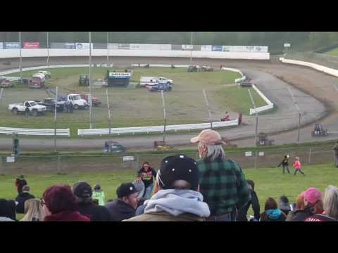 Ashley Thompson's B-Main at Skagit Speedway 5/6/17