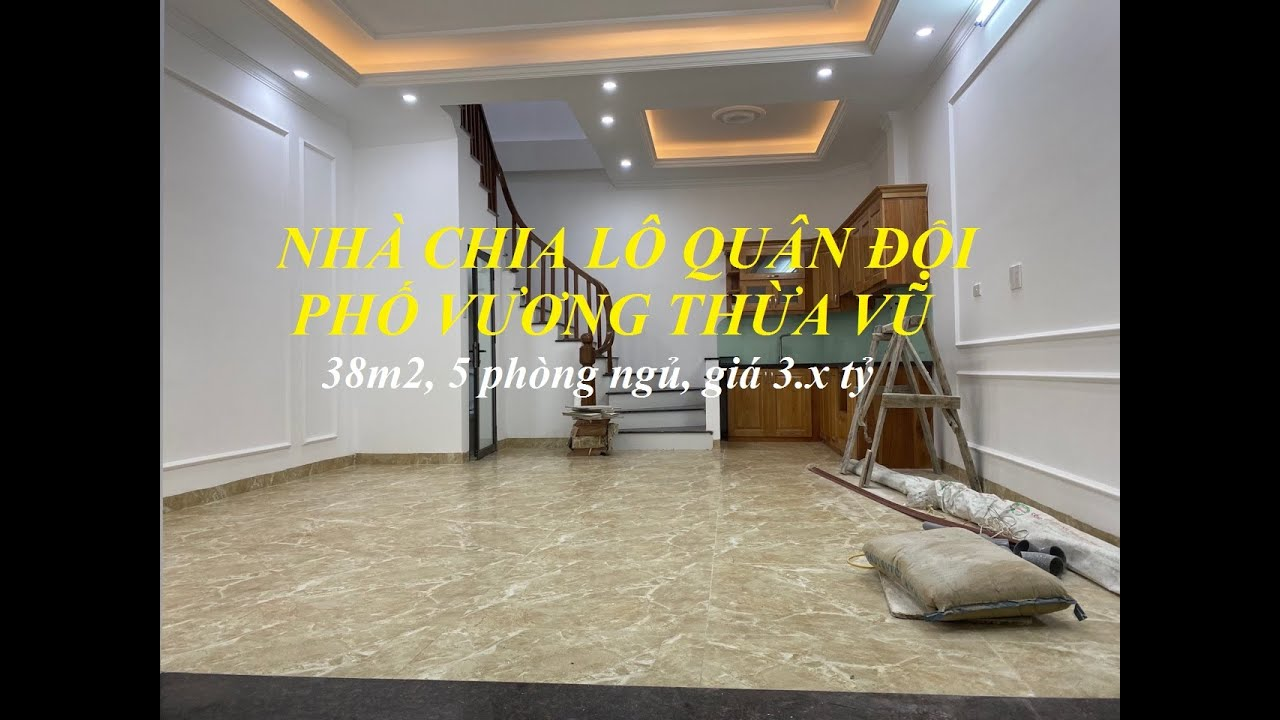 Nhà mới tinh vừa xinh vừa sang khu Quân đội Vương Thừa Vũ – Ngã Tư Sở   Nhà đẹp Hà Nội 2020 giá rẻ