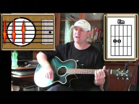 Slip Sliding Away Paul Simon Guitar Lesson Youtube
