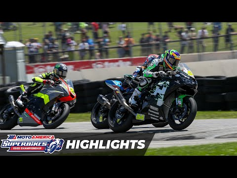 Supersport Race 2 Highlights at Road America 2