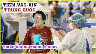 Hành trình Tiêm Vaccine Covid-19 của Trung Quốc. Ôi Xui quá Xui | Lâm Gia Vlogs