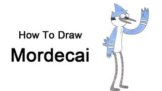 How to Draw Mordecai (Regular Show)