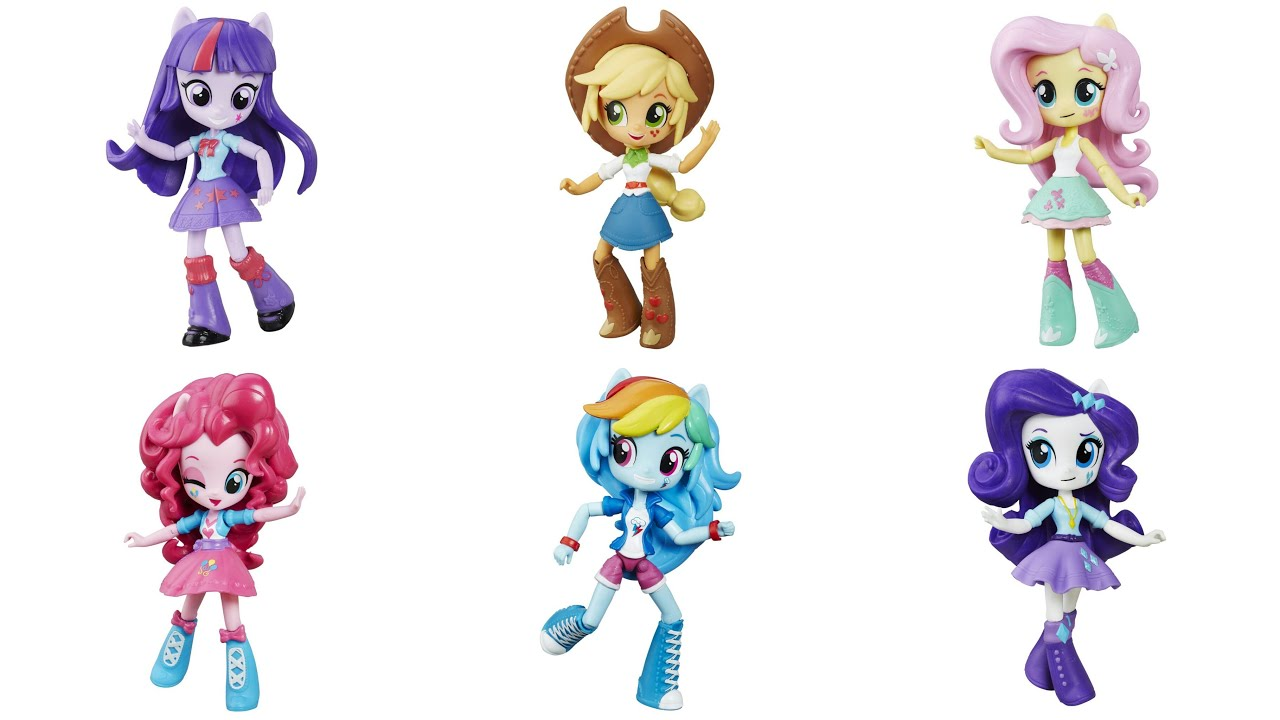 Mlp Equestria Girls Mini Figures Minis Youtube