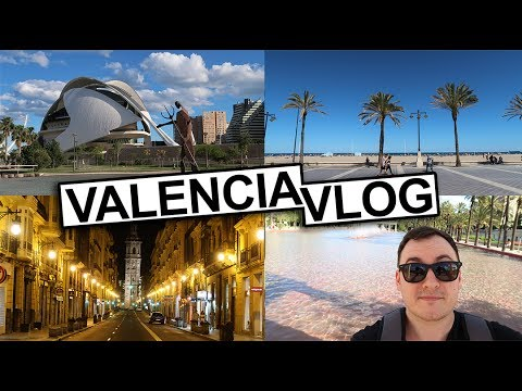Travel Vlog: A Week In Valencia, Spain! Part 1