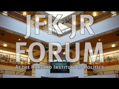 The JFK Jr. Forum at the Harvard Institute of Politics