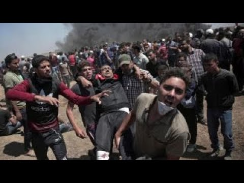 Palestinians protests America