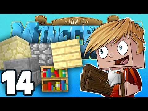 """Minecraft: HOW TO MINECRAFT! """"The New House???"""" Episode 14 (Minecraft 1.8 SMP/Lets Play!)"""
